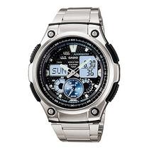 Relógio Casio Ana-digi Aq-190wd-1avdf + 1 Ano De Garantia