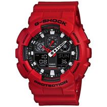 Relógio Casio G Shock Vermelho Prova D