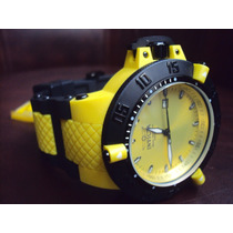 Relógio Invicta Sub Aqua Noma Iii - Amarelo - Original