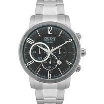 Relógio Masculino Orient Cronógrafo Prata Mbssc120