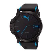 Relógio Masculino Puma - Pulseira De Borracha - 96179gppmpu3