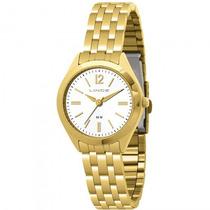 Relógio Lince Lrg4202l B2kx Feminino Dourado - Refinado