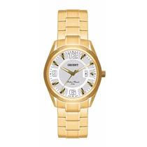 Relógio Orient Feminino Fgss1042 Dourado Ouro Frete Gratis