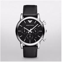 Relógio Armani Ar1733 Original Couro Promoção + Envio Grátis