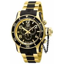 Relógio Invicta 6633 Diver Chronograph Banhado A Ouro 18k