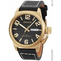 Relógio Magnum Soviet Ma33406p Garantia 1 Ano Original