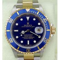 Relógio R. Submariner Blue Gold - Frete Grátis