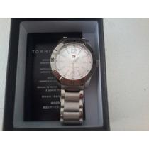 Relógio Novo Tommy Hilfiger - Pulseira Em Prata