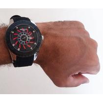 Relógio Esportivo Caixa Grande Coleção Aviador 2015
