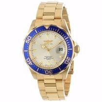 Relógio Masculino Invicta Pro Diver Dourado Gold 14124 Luxo