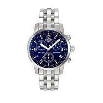 Relógio Tissot Prc200 - Prc 200 Azul - Original Completo