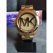 Relogio Michael Kors Runway Mk5706 100% Original 12x S/juros