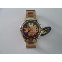 Relógio Atlantis Serie Ouro G-shock Pulseira Aço Prova Dagua