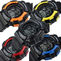 Relógio Sport Watch Importado Unissex Barato Prova De Água