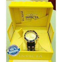 Relógio Invicta Pro Diver 17881 - Ouro 18kl Original Swiss