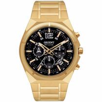 Relógio Orient Masculino Fundo Preto Sport Mgssc009 P2kx