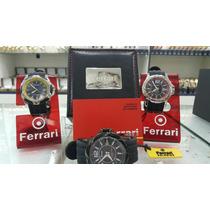 Relógio Ferrari Pulseira De Silicone Original Com N/ Fiscal