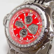 Citizen Promaster Combo Tempe Js1046-55w Js1041-59e Original