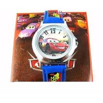 Relógio De Pulso Infantil Carros Disney-pronta Entrega
