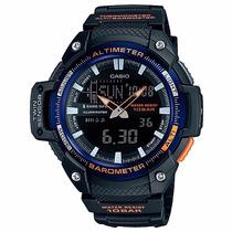 Relógio Casio Masculino Sgw-450h-2b Barometro Altimetro