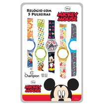 Relógio Troca Pulseiras Disney Mickey Digital Dy48047m