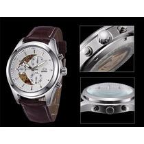 Relógio Masculino Aço Inoxidável Quartz Classic Casual