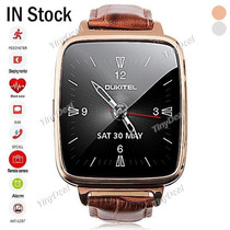 Oukitel A28 Smart Watch Heart Rate Monitor Genuine Leather B