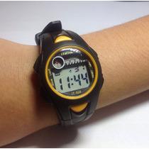 Relógio Sport Watch Digital Cronômetro Data Luz Alarme Novo