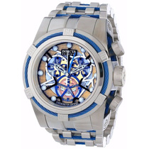 Relogio Invicta Bolt Zeus Skeleton Original 13753