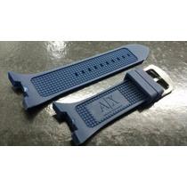 Pulseira Armani Exchange Ax1050/1040 Azul