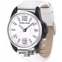 Relógio Police Lancer Branco Com Preto Pl12591jsbs/01