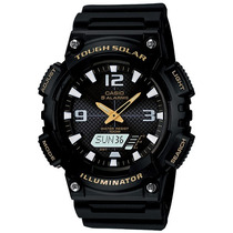 Relógio Casio Aq-s810 W-1b Tough Solar 5 Alarmes H.mundial G