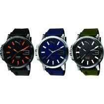 Relógio Puma Masculino Ultrasize Original 12xs/juros Sedex