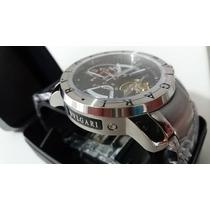 Relógio Automático Preto Bul Pronta Entrega 12x Sem Juros