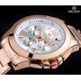 Megir 5006 Water Resistant Masculino Japão Relógio De Quartz