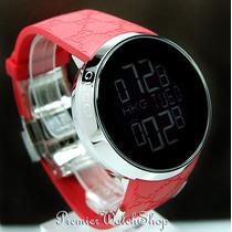 Relógio Gucci Digital Special Novo Vermelho