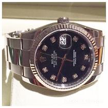 Rolex Datejust 36 Mm Diamante Troco Audemars Piguet Cartier