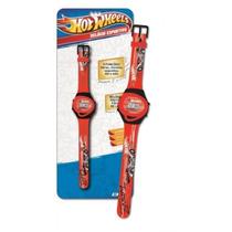 Relógio Esportivo Hot Wheels