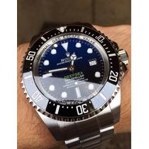 Rolex Deepsea D - Blue James Cameron. 5 Anos De Garantia