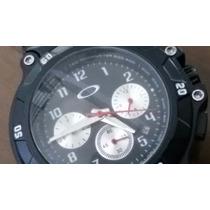 Relógio Oakley Metal Cronos Funcionais