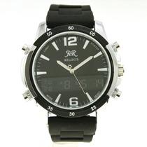 Relógio Esportivo Clássico( Exemplo Da Foto Em Preto) (branc
