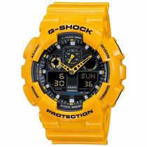 Relógio Casio G Shock Amarelo Prova D