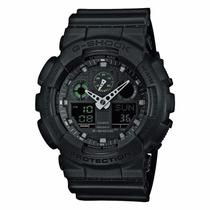 Casio Masculin G Shock Analog Digital Black Military Ga100