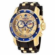 Relógio Invicta Pro Diver Scuba 6983a Dourado Importado Eua