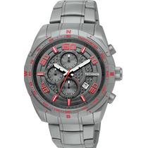 Relógio Technos Cronógrafo Os1aad/1r Ts Carbon