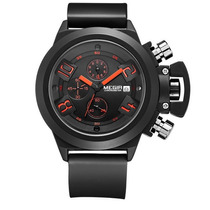 Relógio Masculinos Megir Militar Esporte Barato Luxo Lindo