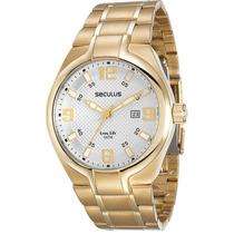 Relógio Seculus Masculino 20308gpsvda2.
