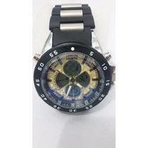 Relógio Importado Masculino Analógico E Digital Jb12