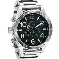 Relógio Nixon 51-30 Preto Aço - Original - Em 12x Sem Juros