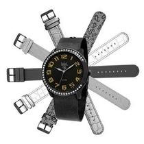 Relógio Feminino Analógico Dumont Troca Pulseira Sk68092/3c